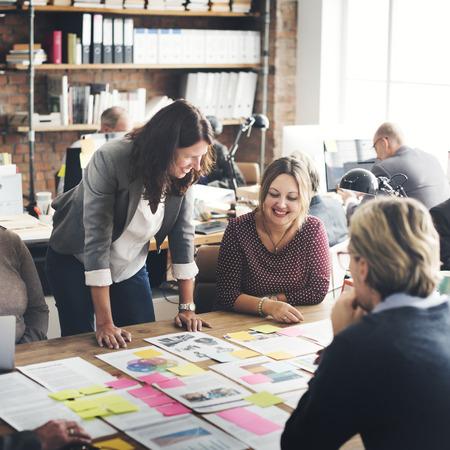 Coooperation Archievement Concepto Trabajo en equipo corporativo Foto de archivo - 54970496