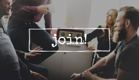join the team: Join Team Recruitment Register Membership Hiring Concept