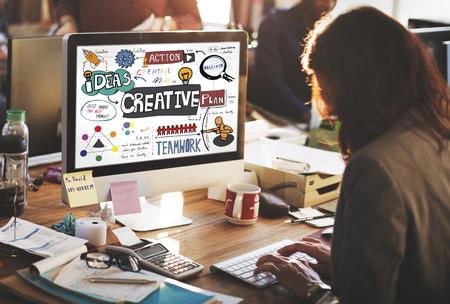 inspire: Creative Design Innovation Inspire Concept