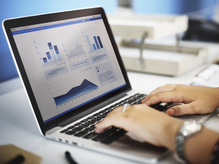 Business Research Data Economy Statistics Concept Stock Photo