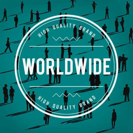 allover: Wolrdwide Globalization Global International Concept