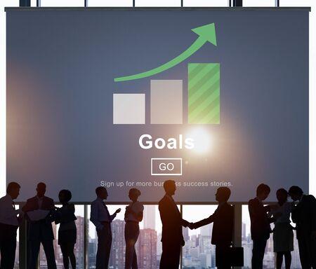 man business oriented: Goals Inspiration Mission Motivation Target Website Concept