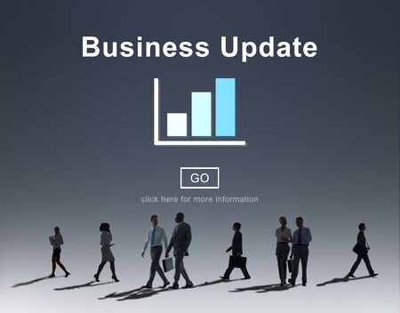 commuting: Business Update Graph Chart Graphics Concept