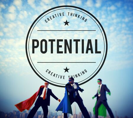 probable: Potential Opportunity Development Capacity Possible Concept Stock Photo