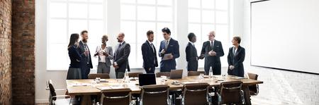 Zakenmensen Meeting Discussie Working Concept