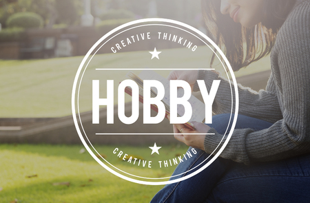 avocation: Hobby Fun Happiness Leisure Activity Pursuit Concept Stock Photo