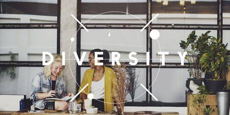 variation: Diversity Multiethnic Group Ethnicity Variation Concept Stock Photo
