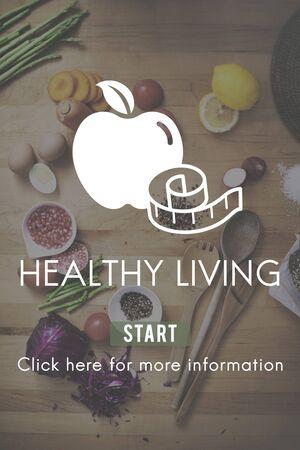 Healthy Living Life Nutrition Development Active Concept