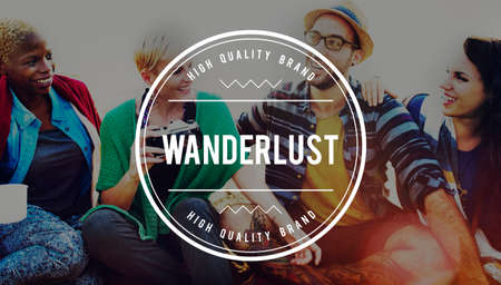 wanderlust: Wanderlust Travel Backpack Adventure Journey Concept