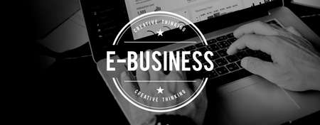 ebusiness: E-Business Commerce Marketing Business Concept