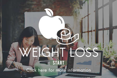weight loss plan: Weight Loss Diet Fitness Exercise Healthy Lifestyle Concept