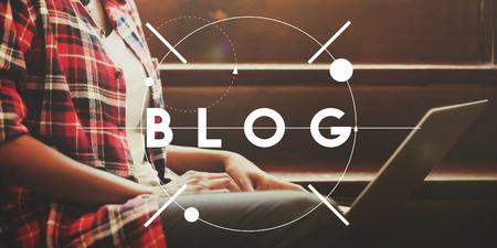 opinion: Blog Social Media Information Opinion Concept
