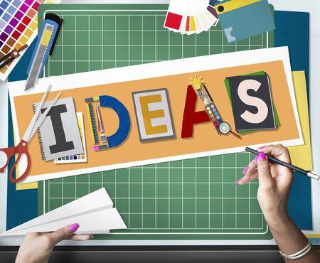 Ideas Design Art Creative Strategy Concept