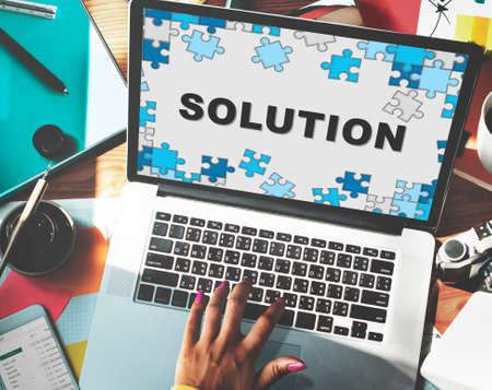 in problem: Solution Problem Solving Decision Progress Concept
