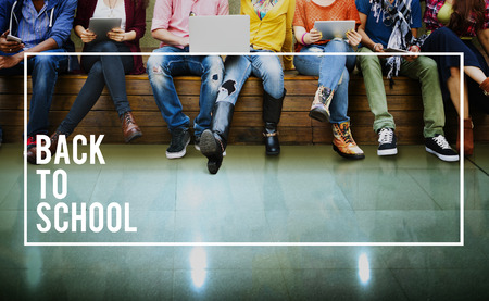 Back to School Education Knowledge College University Concept Stock Photo
