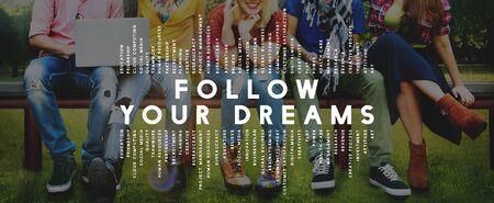 Follow Your Concept Rêves Aspiration Dreamer