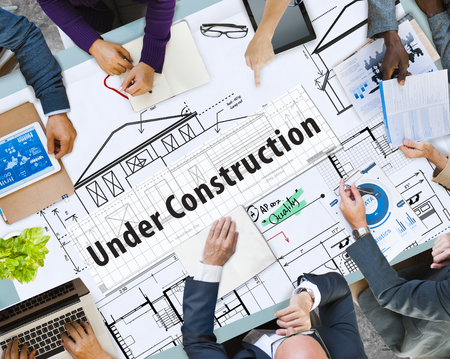 Business planning with under construction concept