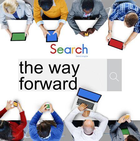 onward: The Way Forward Target Goals Aspiration Development Concept