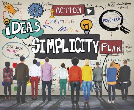 minimal: Simplicity Minimal Normal Contemporary Simpleness Concept Stock Photo