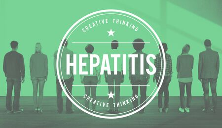 toxin: Hepatitis Symptoms Toxin Virus People Concept