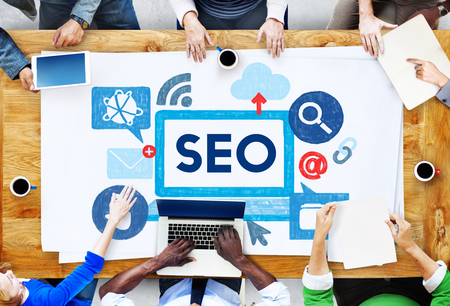 search info: Search Engine Optimization Business Data Digital Concept