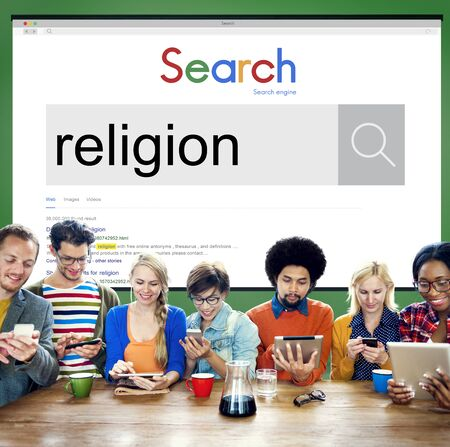 Religion Faith Mercy Praying Spirituality Worship Concept