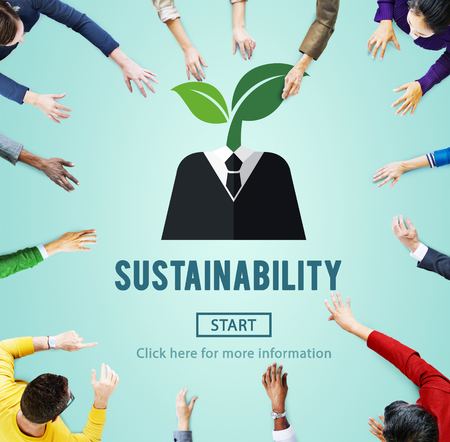 responsabilidad: Sostenibilidad Ecología Conservación Ambiental Concepto Sostenible