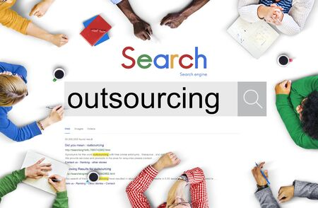 supplier: Outsourcing Contract Subcontract Supplier Concept