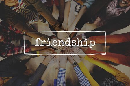 join the team: Friends Friendship Partnership Support Friendliness Concept