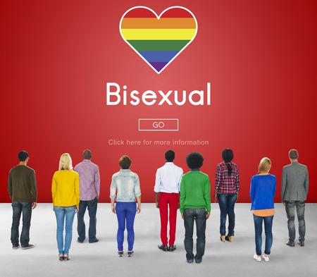 bisexual: Transgender Bisexual Homosexusl Personal Right Concept