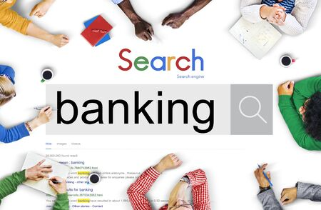 fund: Banking Currency Finance Money Fund Concept Stock Photo