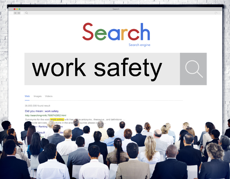 immunity: Work Safety Protection Insurance Immunity Security Concept Stock Photo