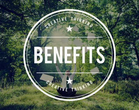 getting away from it all: Benefits Incentive Welfare Advantage Bonus Profit Concept