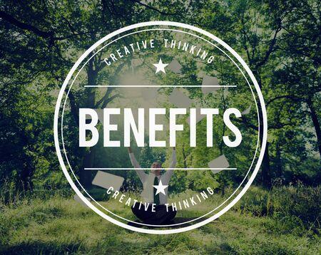 welfare: Benefits Incentive Welfare Advantage Bonus Profit Concept
