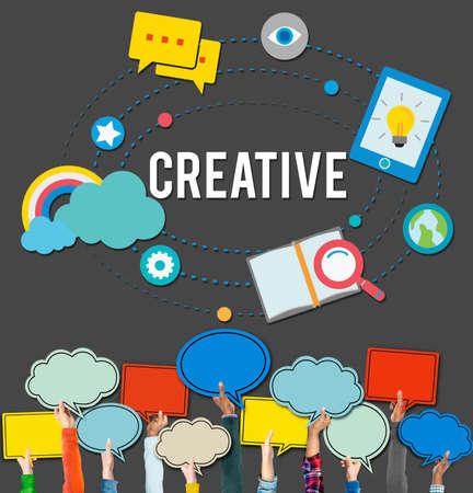 customize: Creative Customize Design Innovation Inspiration Vision Concept