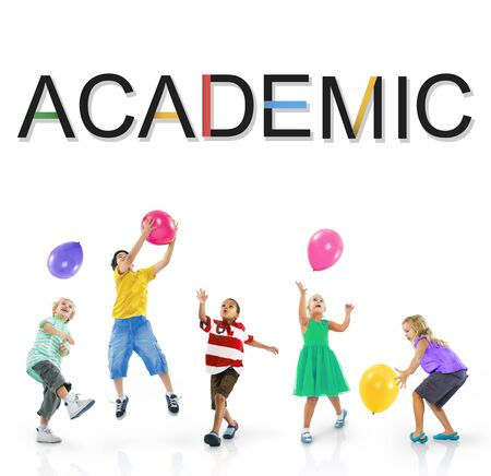 academic: Academic Studying School Graphic Concept