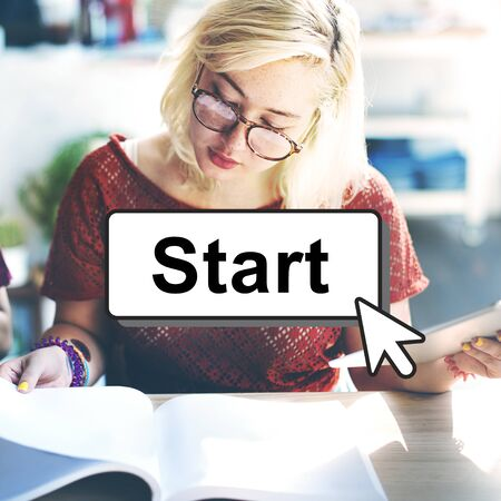 empezar: Start Starter Begin Build Launch Motivate First Concept