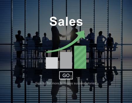 income: Sales Income Finance Business Commerce Concept