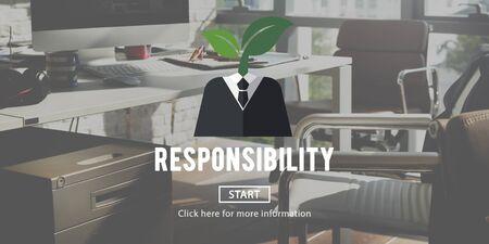 obligation: Responsibility Roles Task Obligation Duty Responsible Concept