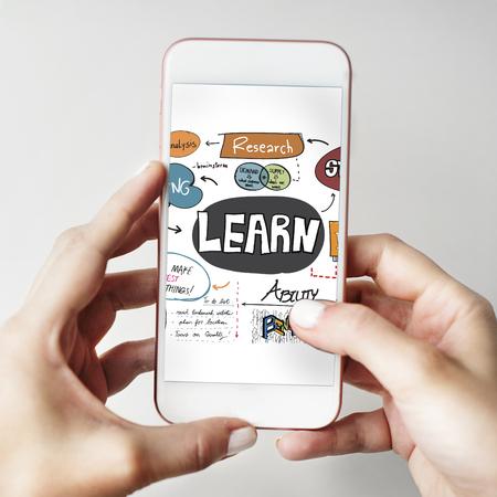 Learn Learning Development Education Knowledge Concept Reklamní fotografie
