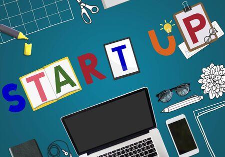 aspiration: Start Up Business Growth Launch Aspiration Concept Stock Photo