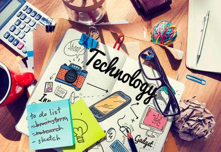 medium group of object: Technology Digital Innovation Internet Science Concept