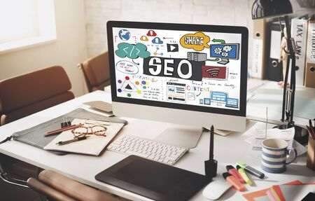 SEO Search Engine Optimization Internet Digital Concept 版權商用圖片 - 54235641