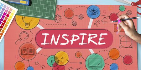 hopeful: Inspire Aspiration Expectation Goal Hopeful Concept