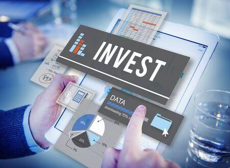 Invest Revenue Profit Savings Money Concept