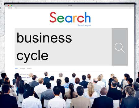 profit or loss: La recesión del ciclo de crecimiento de negocio Concepto de éxito Pérdida Ganancia