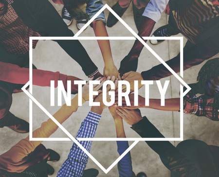 moral: Integrity Trust Moral Loyalty Concept Stock Photo
