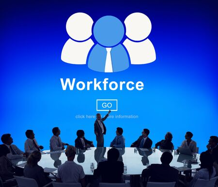Workforce Travail d'équipe Team Connection Partenariat Concept