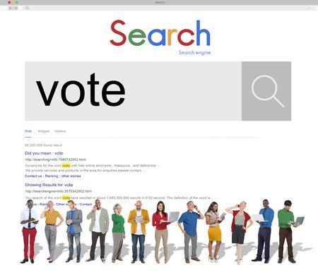 encuestando: Concepto Campa�a votaci�n votante voto de sondeo encuesta Decisi�n