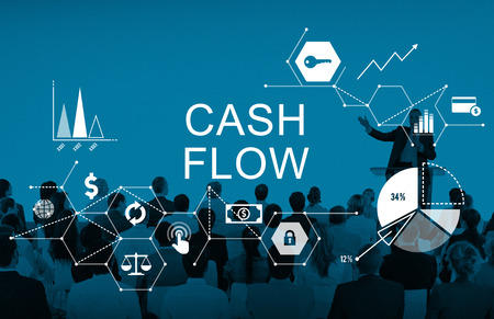 cash flow: Cash Flow Finance Economy Revenue Funds Investment Concept